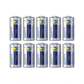 ZOLL AED PLUS VARTA CR123A lithium batterijen 3v REF 8000-0807-01 10 PACK.