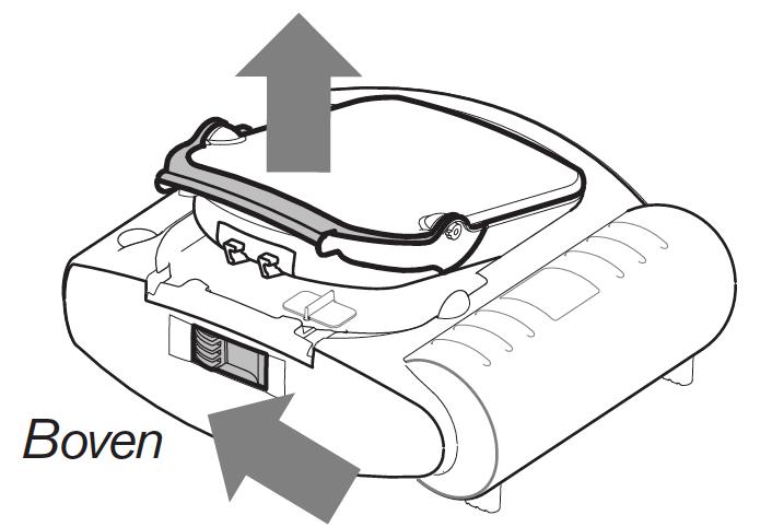 schuif vergrendeling Philips HeartStart HS1 AED opzij
