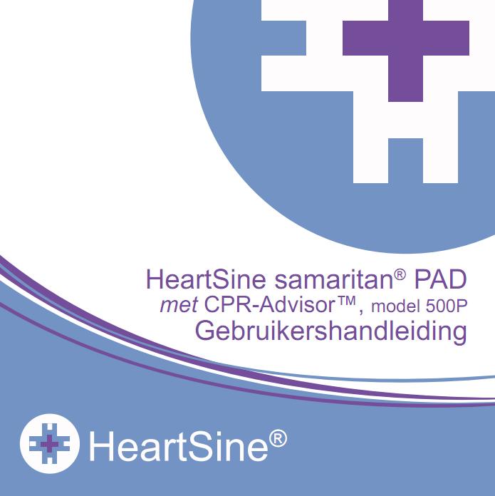 Handleiding HeartSine Samaritan PAD 500p AED