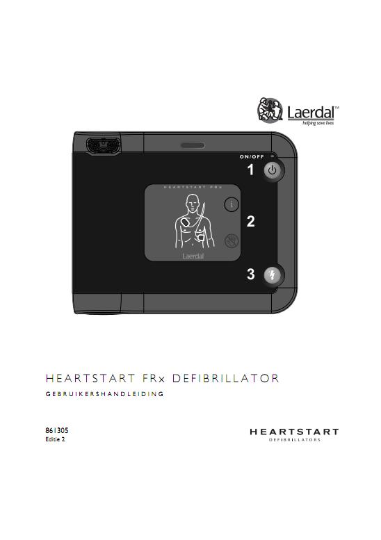 Handleiding Philips HeartStart FRx AED