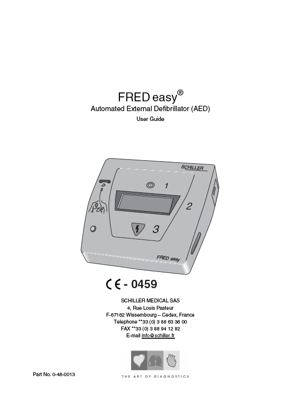 Handleiding Schiller Fred Easy automatic