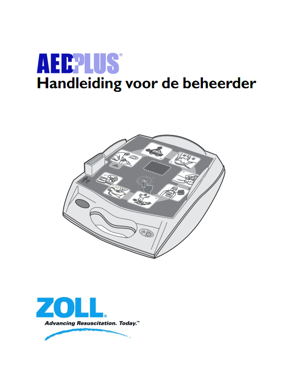 Handleiding Zoll AED PLUS