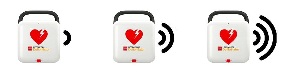 ClearVoice technologie Physio-Control Lifepak CR2 WiFi NL 99512-000153