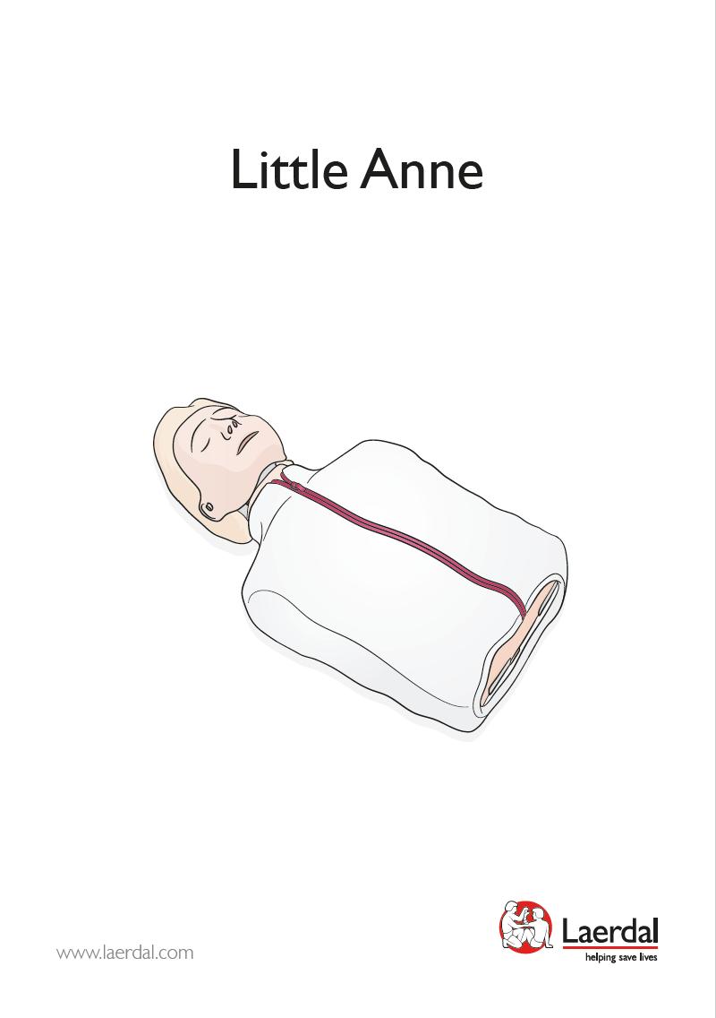 Handleiding Laerdal Little Anne QCPR REF 123-01050
