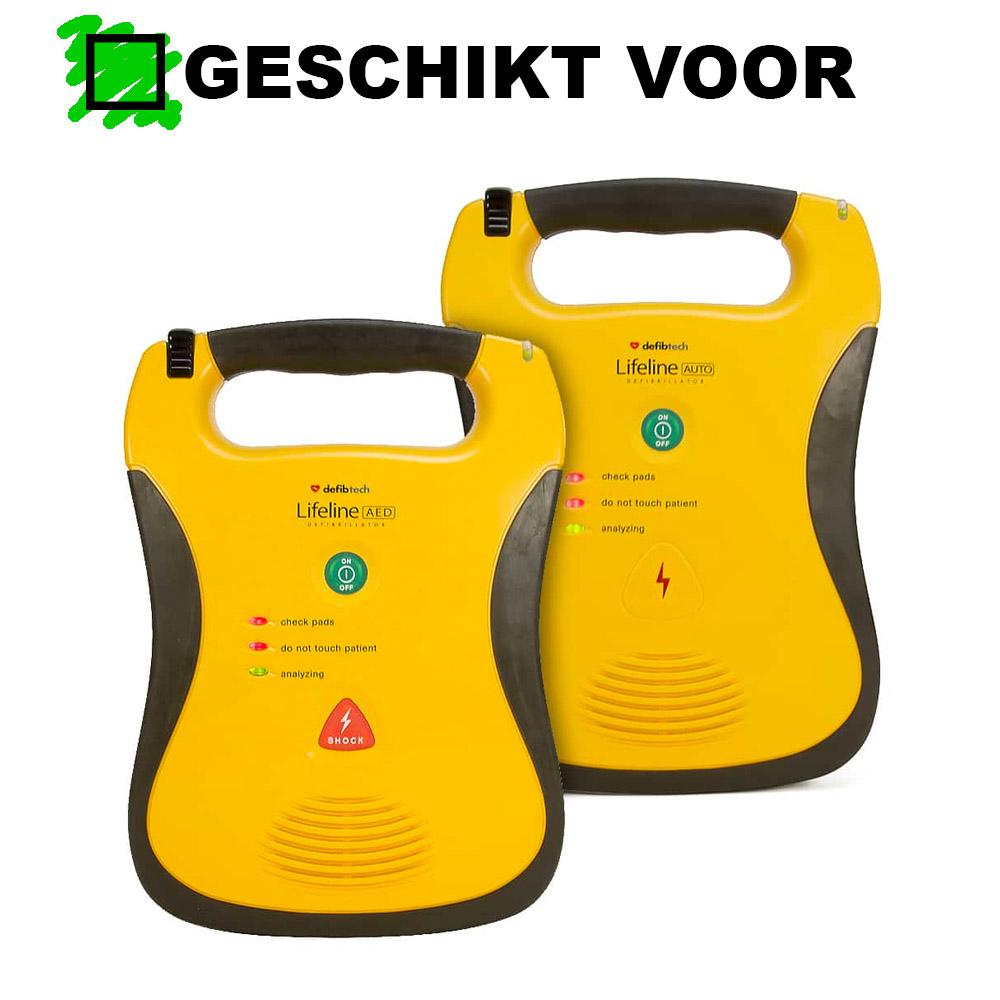 Geschikt voor Defibtech Lifeline AED DDU-100