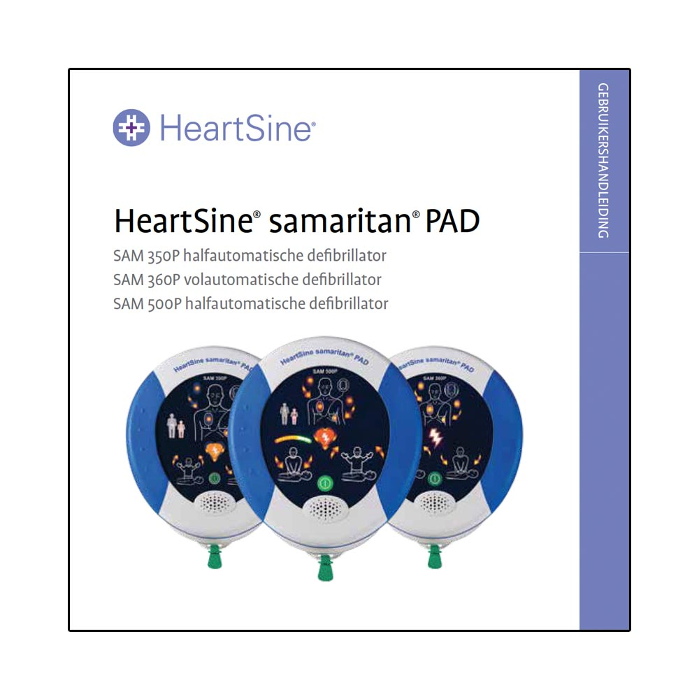 Handleiding HeartSine Samaritan PAD 350P AED DOWNLOAD
