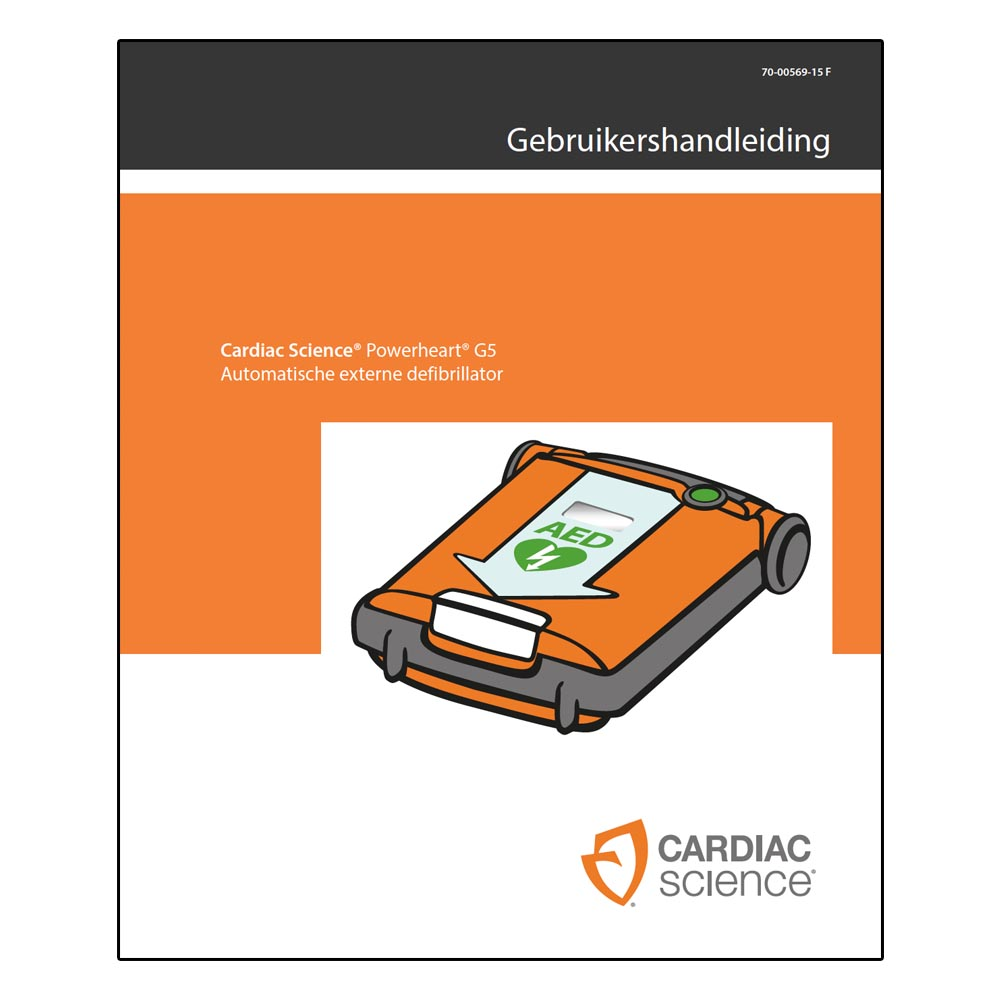 Handleiding Cardiac Science Powerheart G5 AED