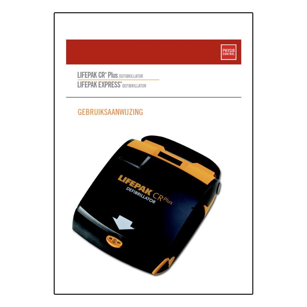 Handleiding manual Physio-Control LIFEPAK CR PLUS gebruiksaanwijzing