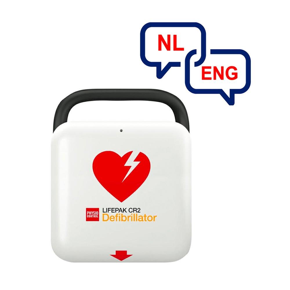 Meertalig Physio-Control Lifepak CR2 WiFi NL 99512-000153