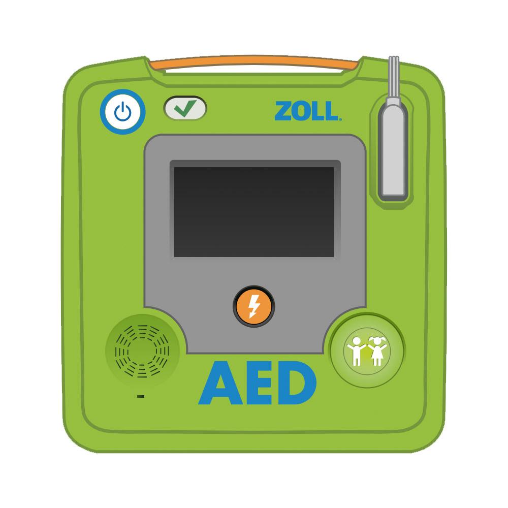 Verpakking ZOLL AED 3 verwijderen